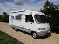 Hymer B544 4 or 5 berth A Class motorhome for sale