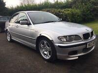 2004 BMW 3I8i Saloon Sport Petrol, Silver