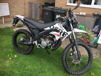 Excellent derbi senda Xtreme r 50CC motorbike for sale