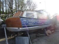House Boat Project for sale