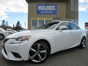 2015 Lexus IS 350 AWD, NAVIGATION, CAMERA RECUL