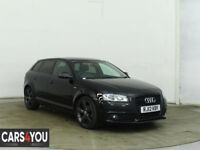 AUDI A3 2.0 SPORTBACK TDI S LINE SPECIAL EDITION 5d 138 BHP FRONT AND REAR PARKING SENSORS