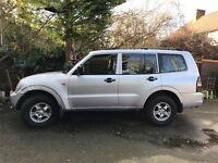 Mitsubishi Shogun LWB Silver Diesal