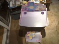 Barbie desk and chair