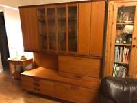 FREE- Large solid oak side board