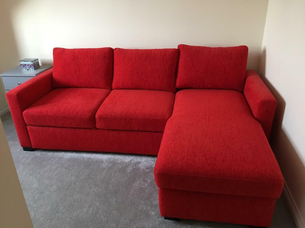 3 Seater Sofa Bed 3 Seater Sofa Bed With Storage Chaise In Portlethen Aberdeen
