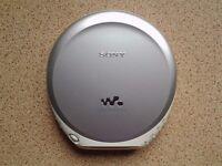Sony walkman with carry case.