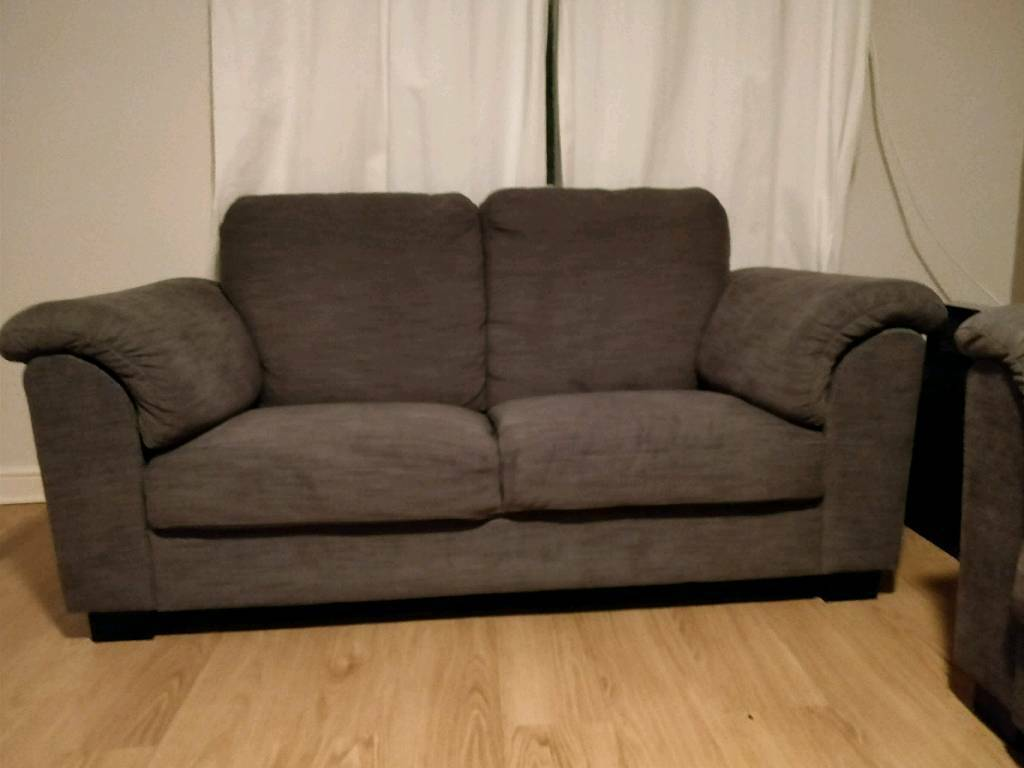 grey ikea tidafors 2 seater sofa in excellent condition. Black Bedroom Furniture Sets. Home Design Ideas