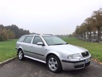 2004/54 SKODA OCTAVIA 1.9 TDI DIESEL ELEGANCE MANUAL, ESTATE **BRAND NEW MOT**GENUINE 97,000 MILES