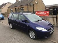 MAZDA 5 1.8 (56) **7 SEATS** , 1 YEAR MOT, WARRANTY , £1895
