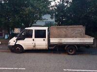 ford transit crewcab pick up 2.4td