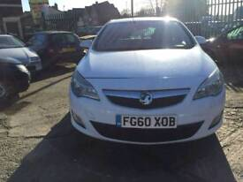 VAUXHALL ASTRA ES CDTI WHITE DIESEL 1688CC 110BHP NATIONWIDE DELIVERY