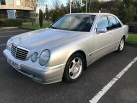 Mercedes E240 Avantgarde, 48000 Miles, Immaculate inside and out original and perfect