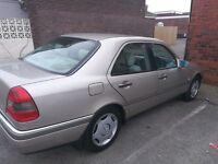 Mercedes C180, 1995, Saloon, Auto, Full MOT, Extensive service history