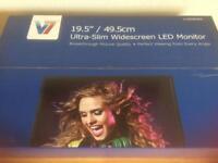 BNIB V7 19.5 Ultra Slim Widescreen LED Monitor