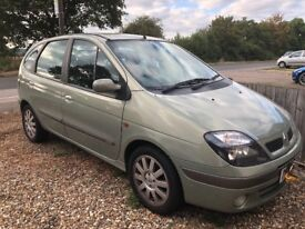 Renault scenic 1.6 petrol mot till 2019 and taxed