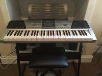 Rock jam keyboard for sale!