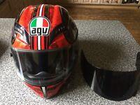 AGV motorcycle helmet. S/M