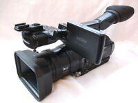 SONY HVR-Z1E HDV / MiniDV CAMCORDER (PAL)