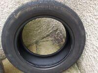 185 60 R15 4x tyres (2x continental) (2x sunny)
