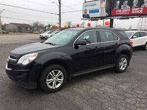 2013 CHEVROLET EQUINOX LS AWD - BLUETOOTH, ONSTAR, CRUISE, ALLOY
