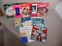 11 Vintage 45 rpm Vinyl Records