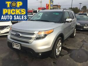 2013 Ford Explorer LIMITED, LEATHER, SUNROOF, NAVIGATION, 20'S,