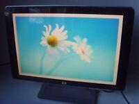 "HP 20"" Widescreen LCD Computer Monitor"
