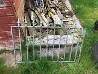 Heavy garden gate