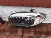 BMW Headlight E82 Passenger Side