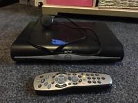 Sky box with remote control