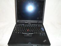 Lenovo ThinkPad X61 Tablet - Core Duo 2GB RAM 80GB HDD