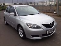 2004 Mazda 3 1.6 , mot - April 2017 , only 47,000 miles ,service history ,2 owners,astra,focus,