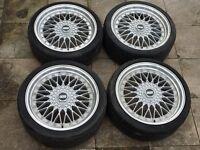 19' Super RS BBS Alloy Wheels x 4