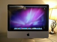 Apple iMac 20-inch, 2.4GHz Intel Core 2 Duo, Early 2008, 3GB Memory RAM, 250GB Hard Drive, OS 10.6.8