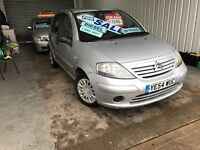 2004(54) CITROEN C3 DESIRE 1.4 HDI 5 DOOR HATCH BACK ONLY £1095