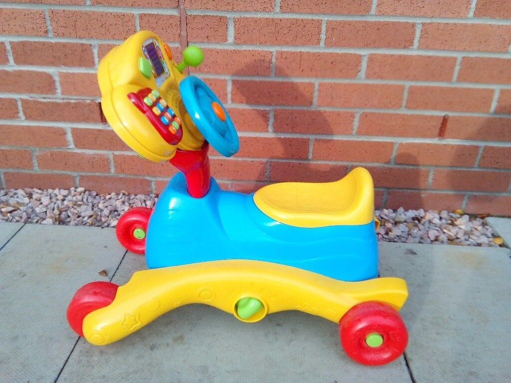 Kids VTEC sit and ride toy