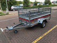 BRAND NEW Tema tiper Trailer 236cm x 125cm x 46cm + mesh side 40cm ! 750kg
