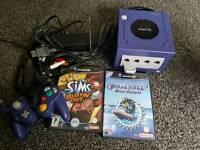 Nintendo GameCube all cables 2 games £40 Trade swap etc consoles transformers etc