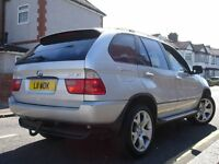 /// BMW X5 2.9 D SPORT /// AUTOMATIC DIESEL JEEP 4X4 /// PRIVATE PLATE SAT NAV LEATHERS ///