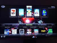Android box fully loaded & 12 months aftercare