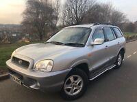 2004 Hyundai Santa Fe 2.0 Td 4wd # sunroof # s/hist# cheap insurance