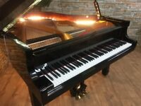 BRAND NEW - STEINHOVEN SG148 - HIGH GLOSS BLACK BABY GRAND PIANO