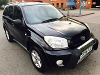 TOYOTA RAV 4 XT3 VVTI,2004,SERV HISTORY, LONG MOT,2-OWNERS,PETROL,MANUAL P/X POSSIBLE
