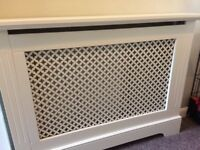 3x radiator covers for sale, relatively good condition, may need a little touch up with paint