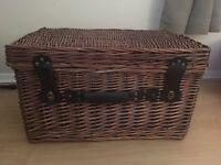 Brown Wicker Basket nice item......