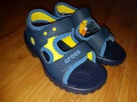 Brand New Crocs Otterkids sandals size 12