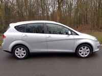 57 REG SEAT ALTEA XL 1.9 TDI STYLANCE 84K WITH M/D/S/H IN MINT CONDITION