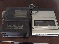 Vintage VHS Portable Video Cassette Recorder