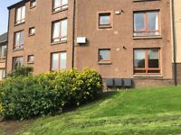 Modern one bed flat with garage to let in Delves Court, Lanark